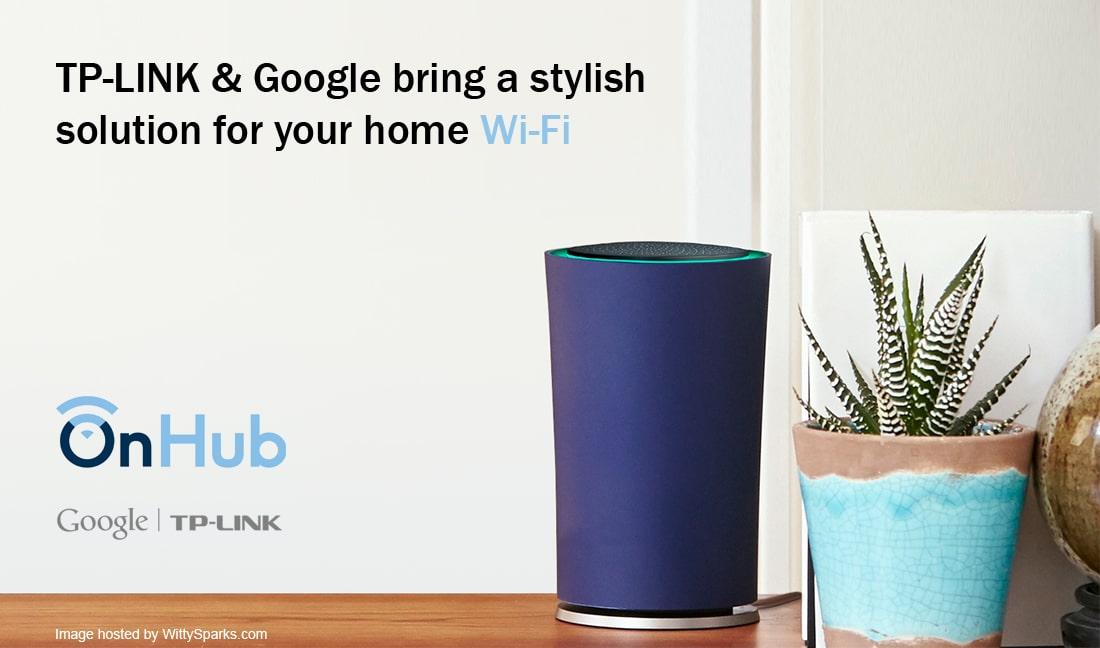 Google and TP-LINK - OnHub