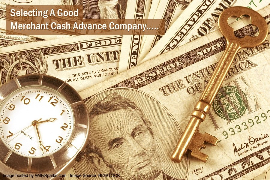 Merchant cash advance providers