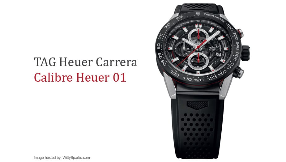 TAG Heuer Calibre Heuer 01