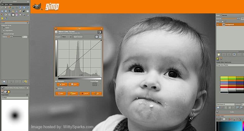GIMP - The GNU Image Manipulation Program