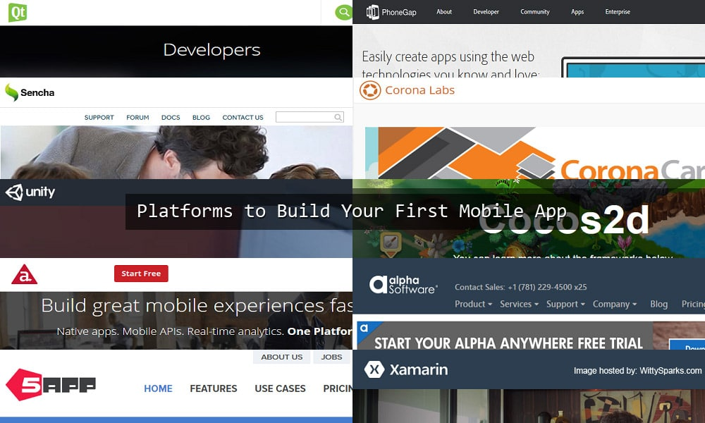 Tools to Build Your First Mobile App