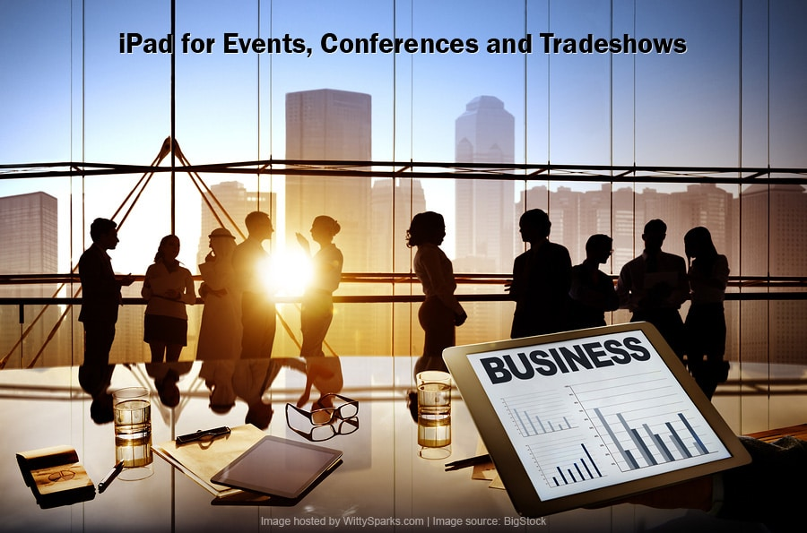 iPad for events, conferences and tradeshows