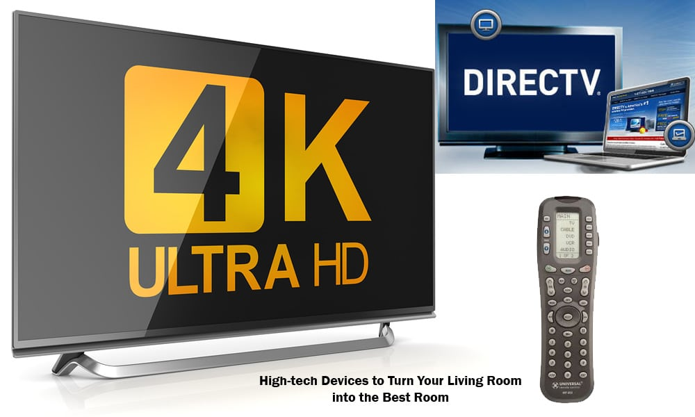 Ultra HD 4K - DirecTV - Universal Remote
