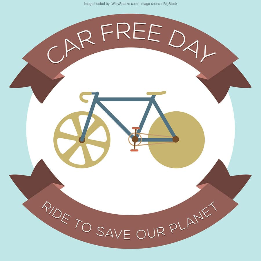 Car Free Day - Save Planet