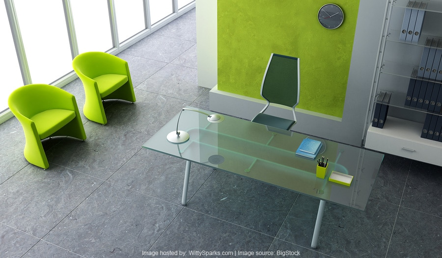 Modern and Colorful Office Interior