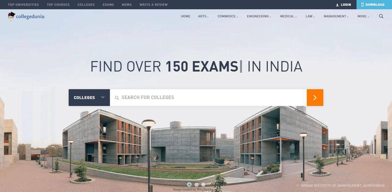CollegeDunia India Education Search Engine