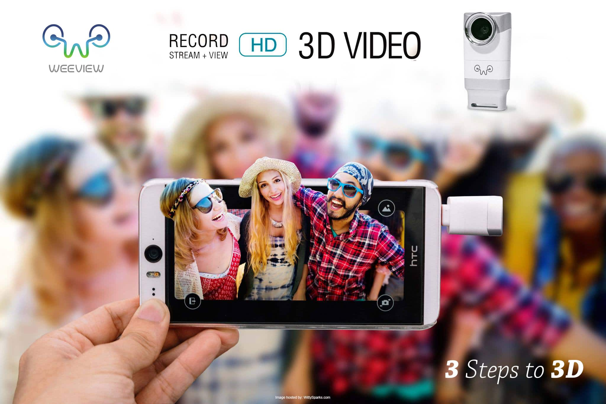 Weeview - 3D video recording device or gadget