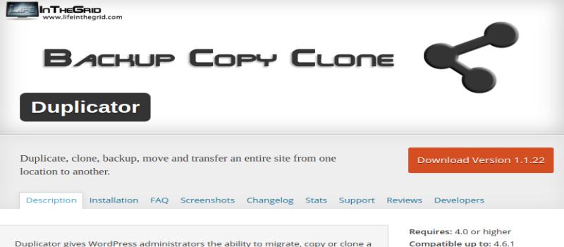 Duplicator Affiliate WordPress Plugin