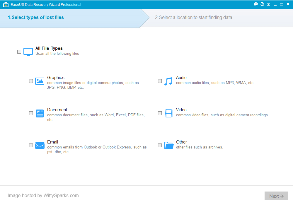 EaseUS - Data Recovery Software Professional