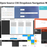 Pure CSS Navigation Dropdown Menus
