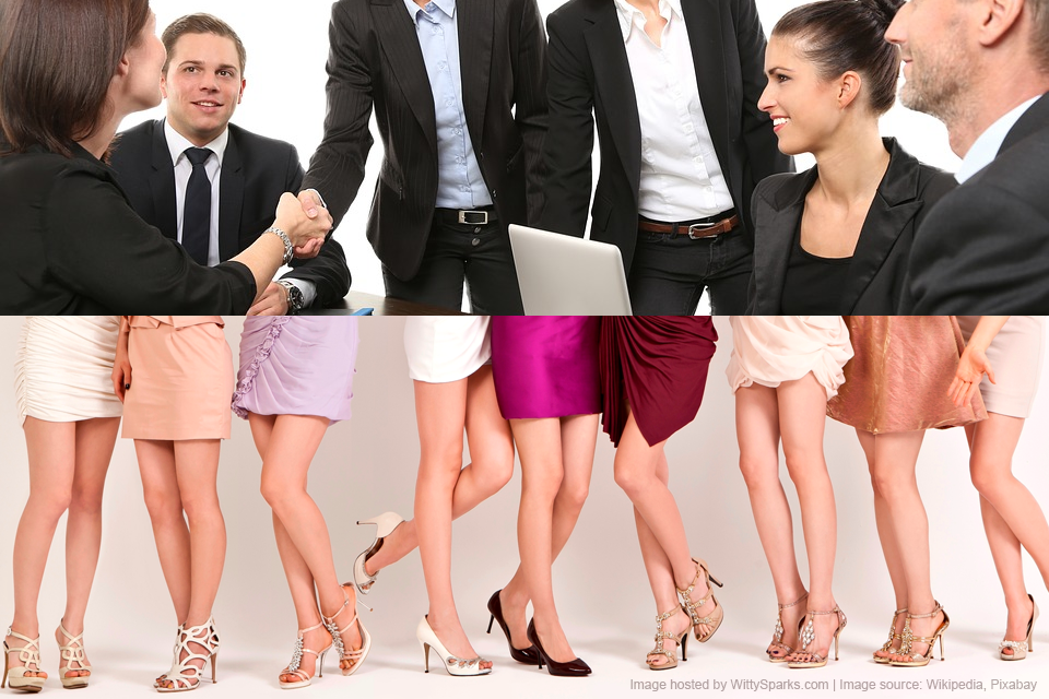 Business or Office Dress Code, Formal or Casual