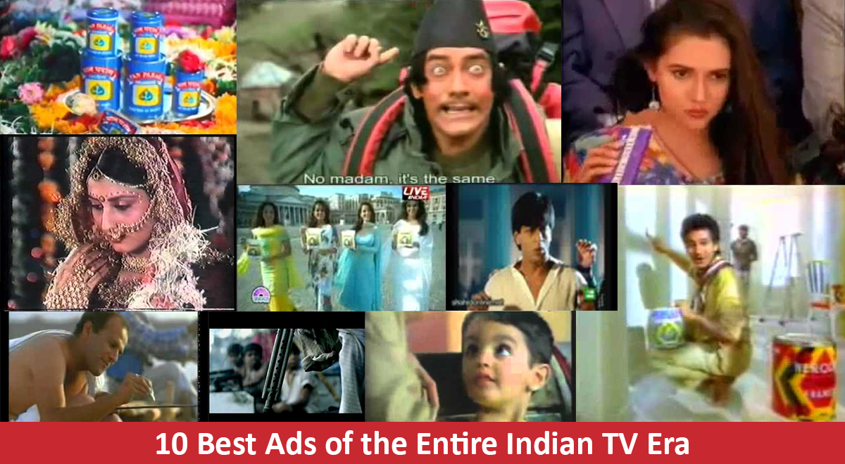 Best Indian TV Advertisements