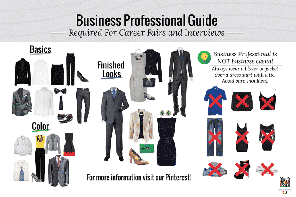 Dress for Success Guide