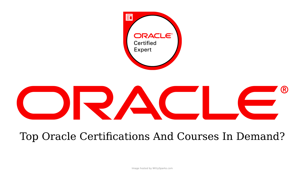 Oracle Certifications - Training and Courses