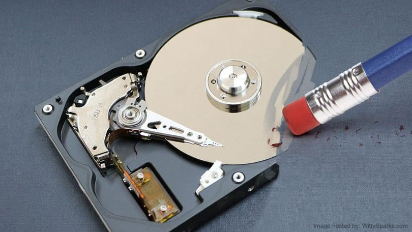 Ways to secure data while wiping hard drive