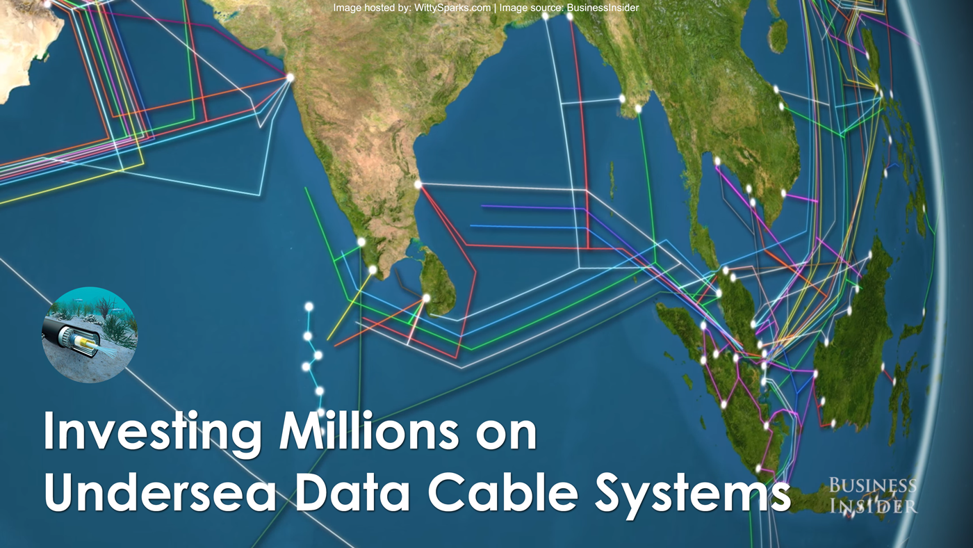 Technology Titans investing in Underwater Data Cables