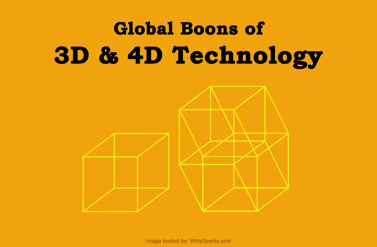Global Boons of 3D and 4D Technology