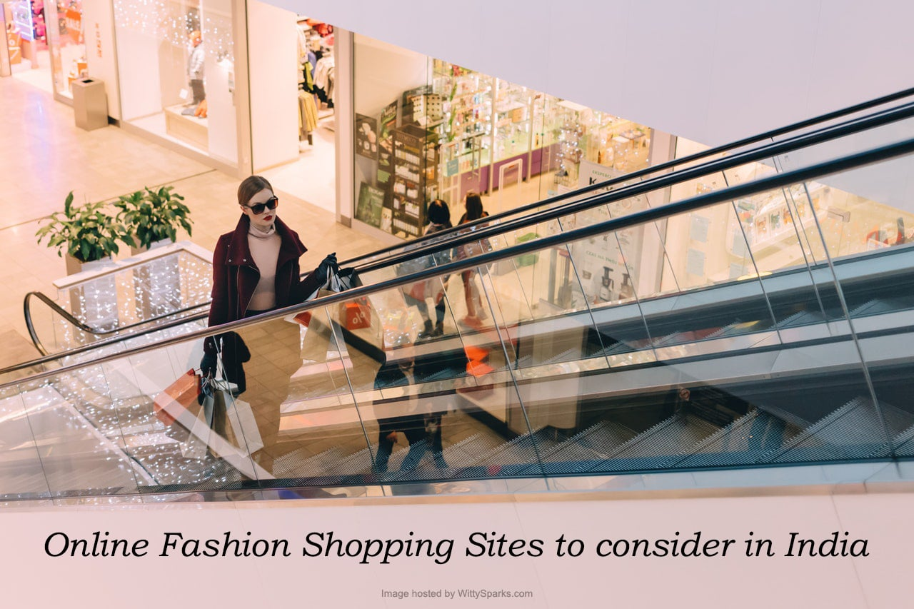 Online Fashion Shopping Sites to consider in India