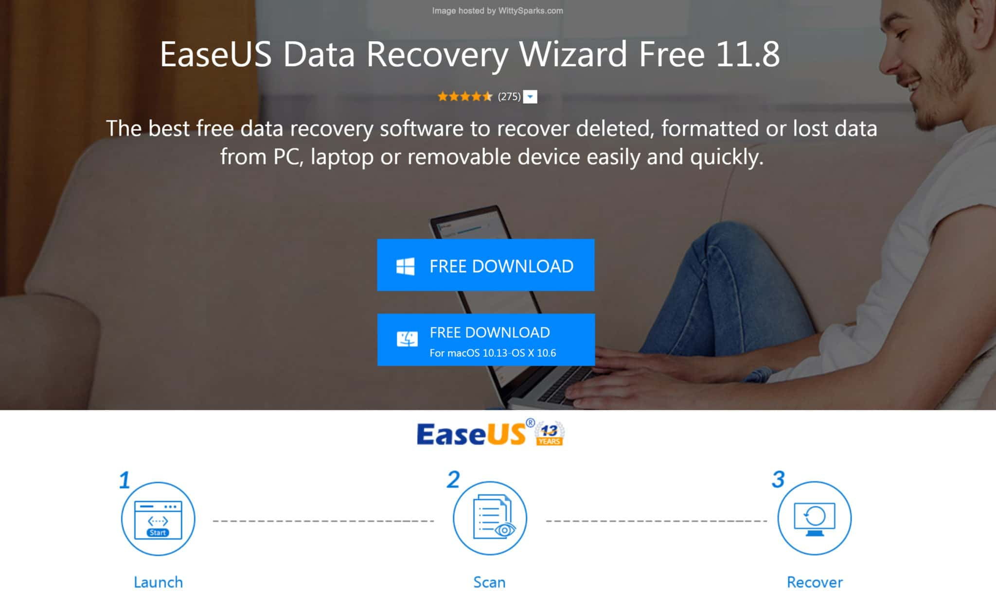 EaseUS - Data Recovery Software Free