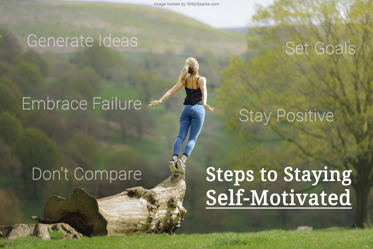 Steps to Staying Self Motivated