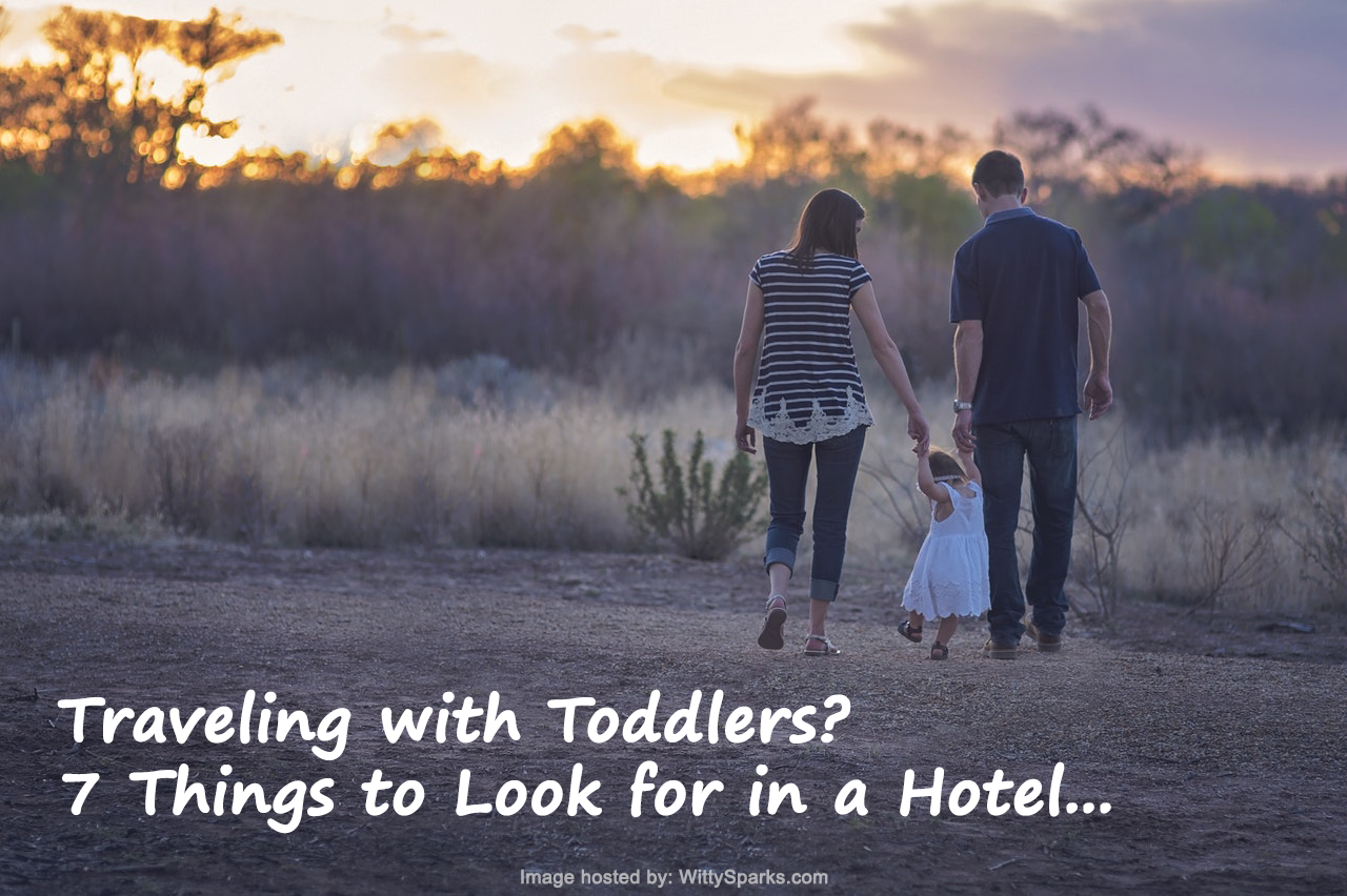 Travelling with Toddlers