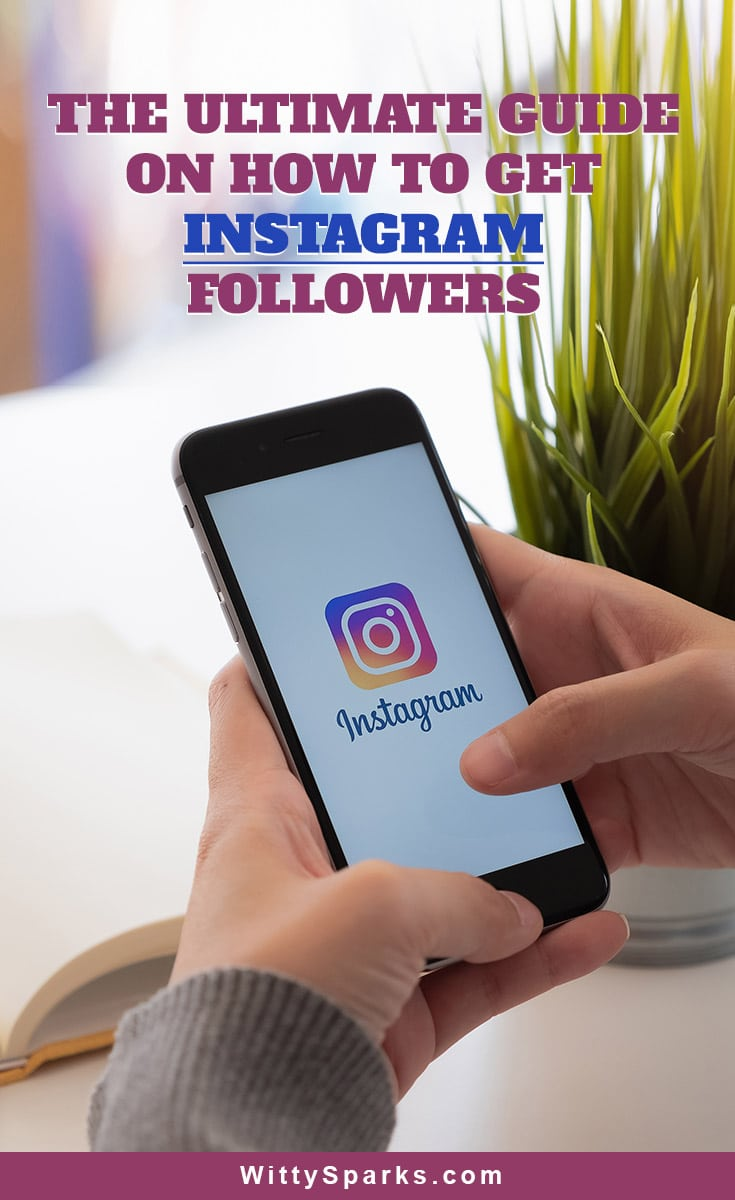 Tips to get more Instagram followers.