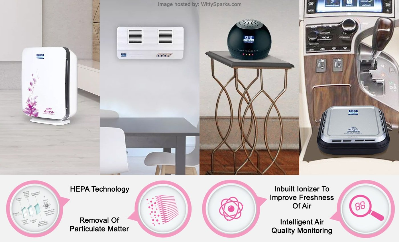 Kent - Air Purifier in India
