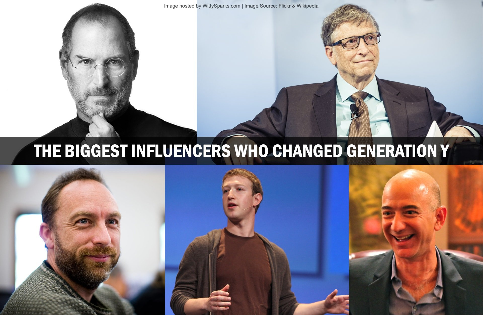 Biggest influencers that molded Generation Y.