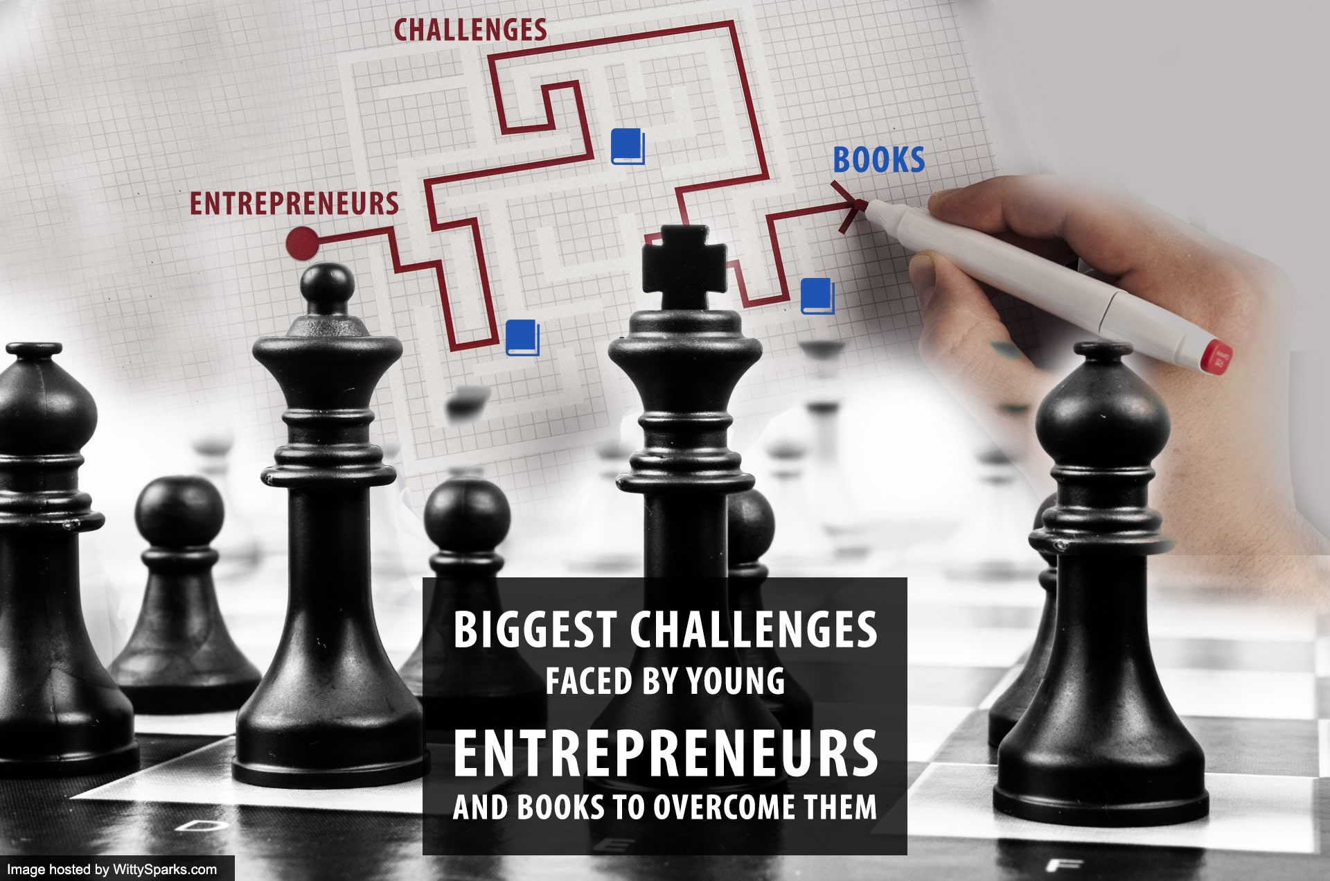 Biggest Challenges Faced by Young Entrepreneurs and Books to Overcome them