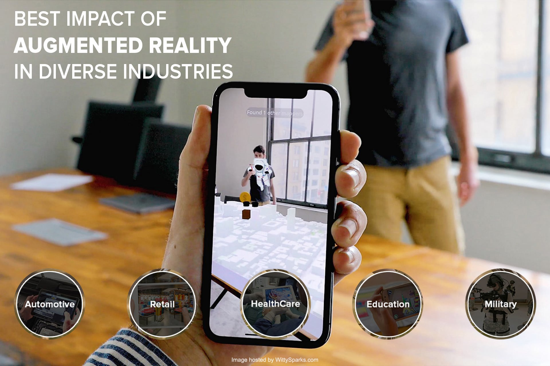Best Impact of Augmented Reality In Diverse Industries