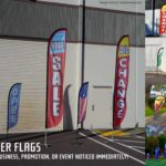 Feather Advertising Flags