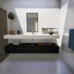 Bathroom wet wall panels