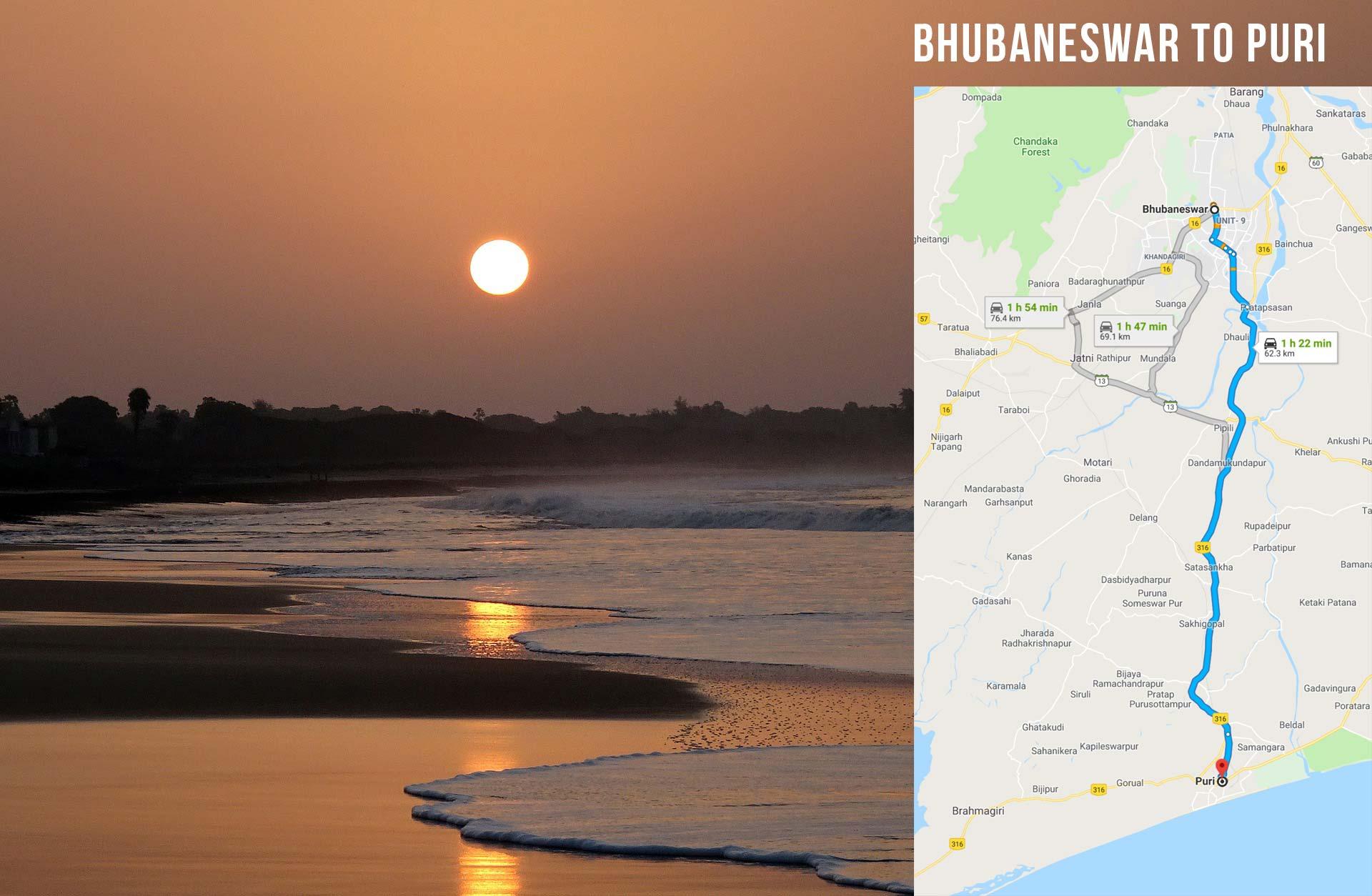 India - Bhubaneswar to Puri