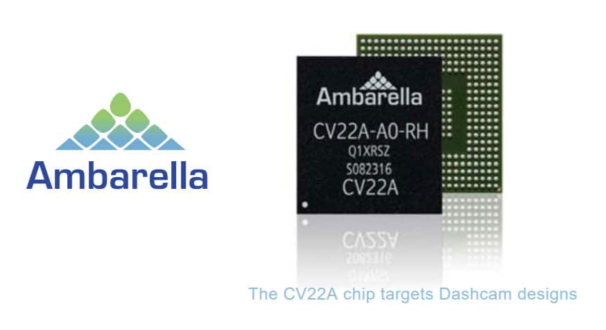 Ambarella - CV22A Chip