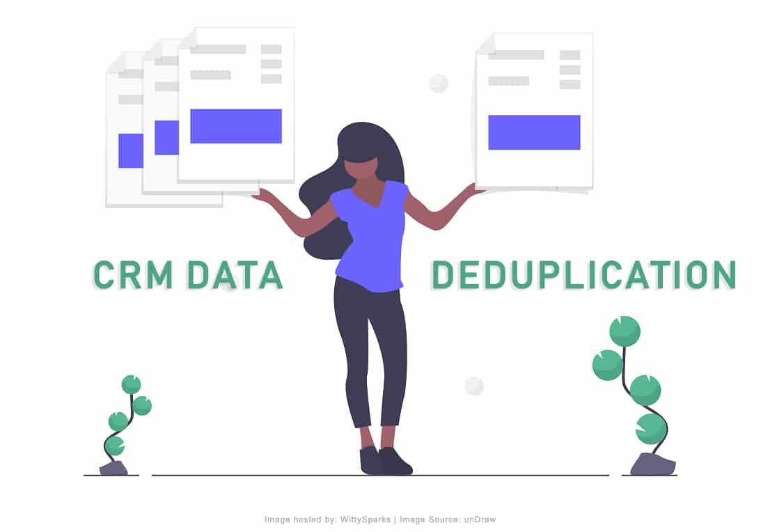 CRM Data Deduplication