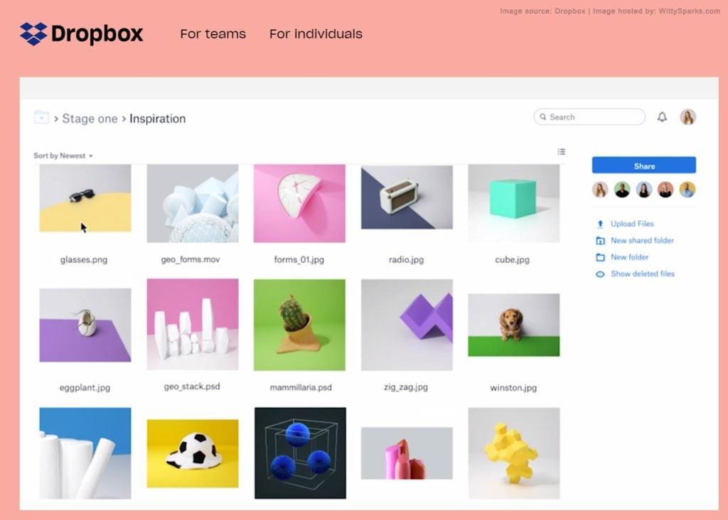 Dropbox - Cloud Storage Services