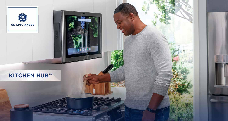 GE Appliances Kitchen Hub.