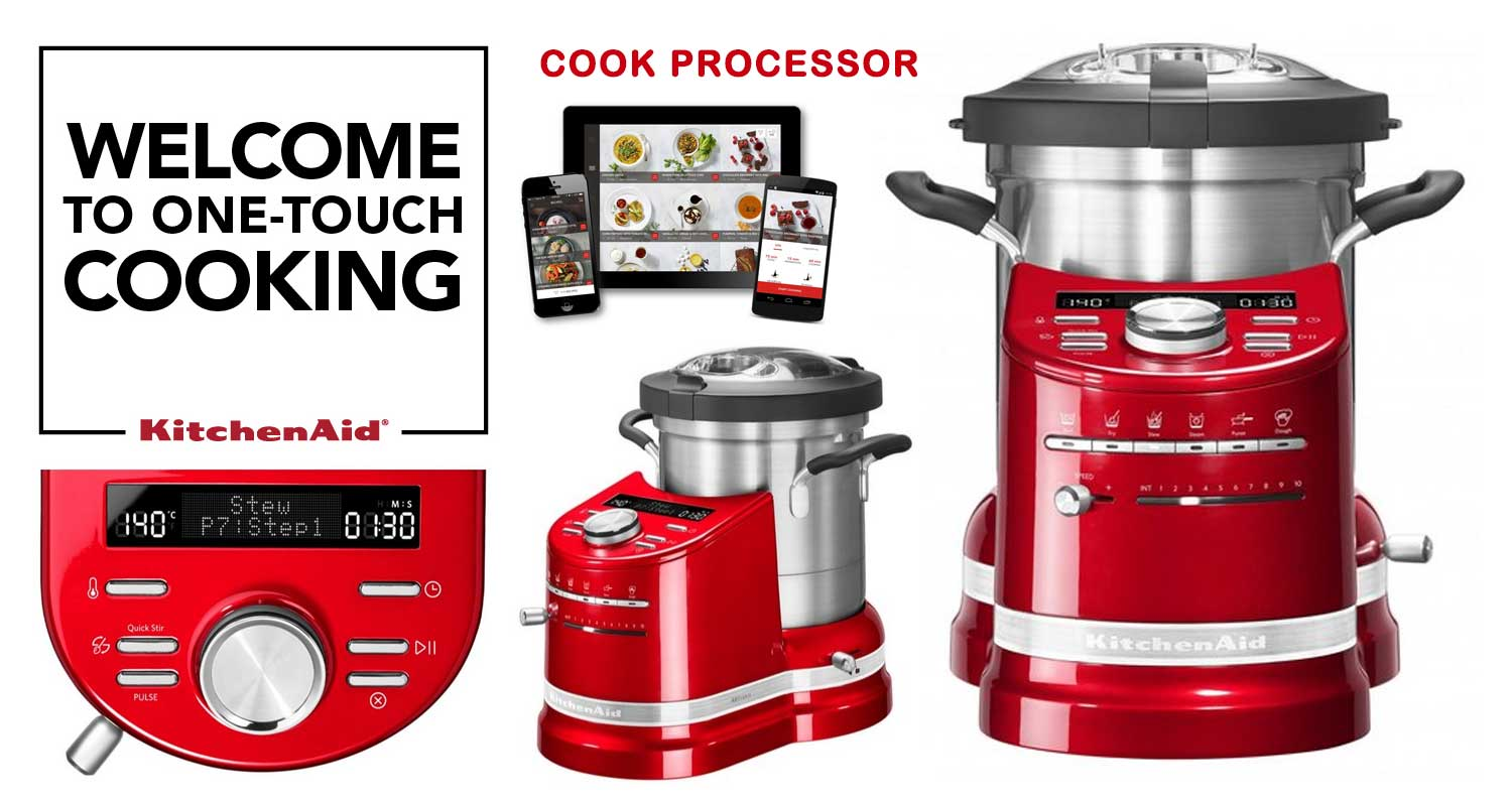 KitchenAid One-Touch Cooking - Cook Processor