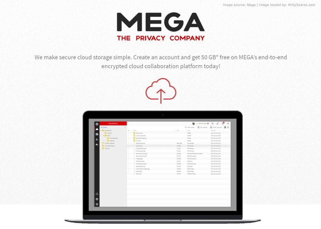 Mega - The Privacy Company - Cloud Storage Services