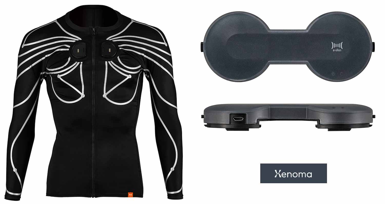 Xenoma's e-skin camera-free motion capture shirt enables a new generation in user experiences.