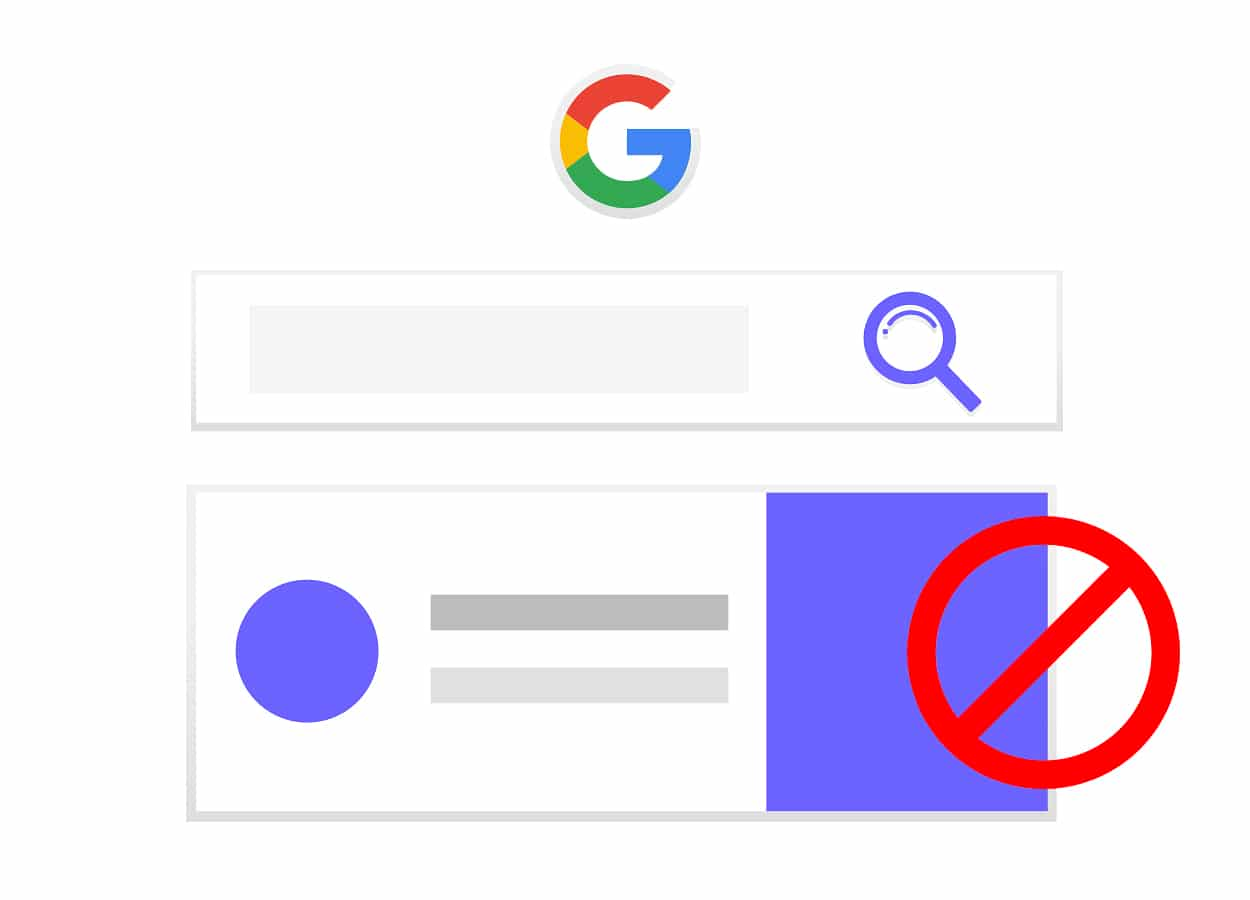 Banned by Google?