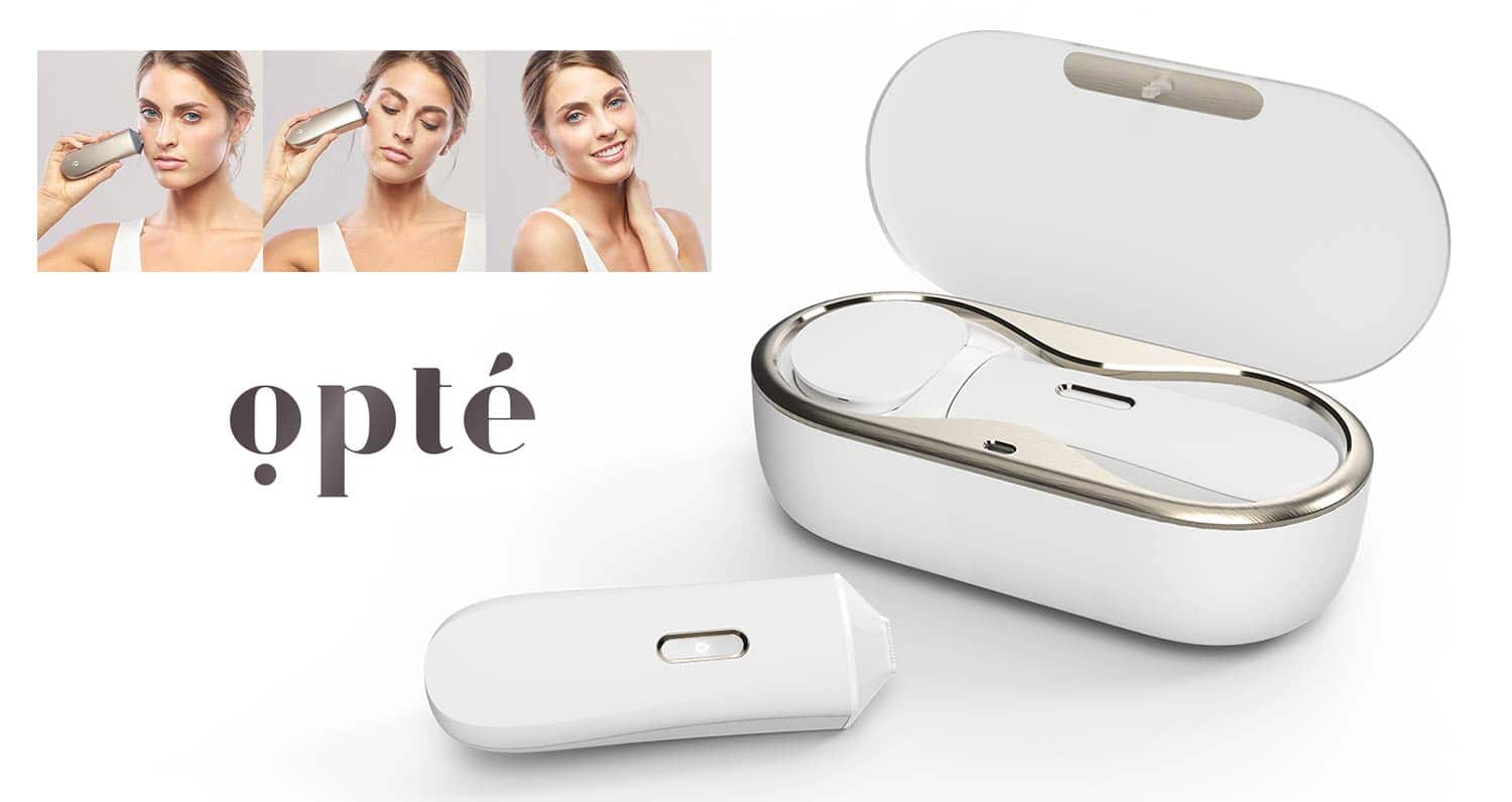 Opte - the world's first digital-age skin-perfecting system.