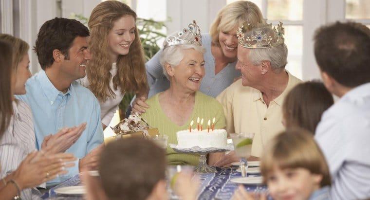 Anniversary of parents