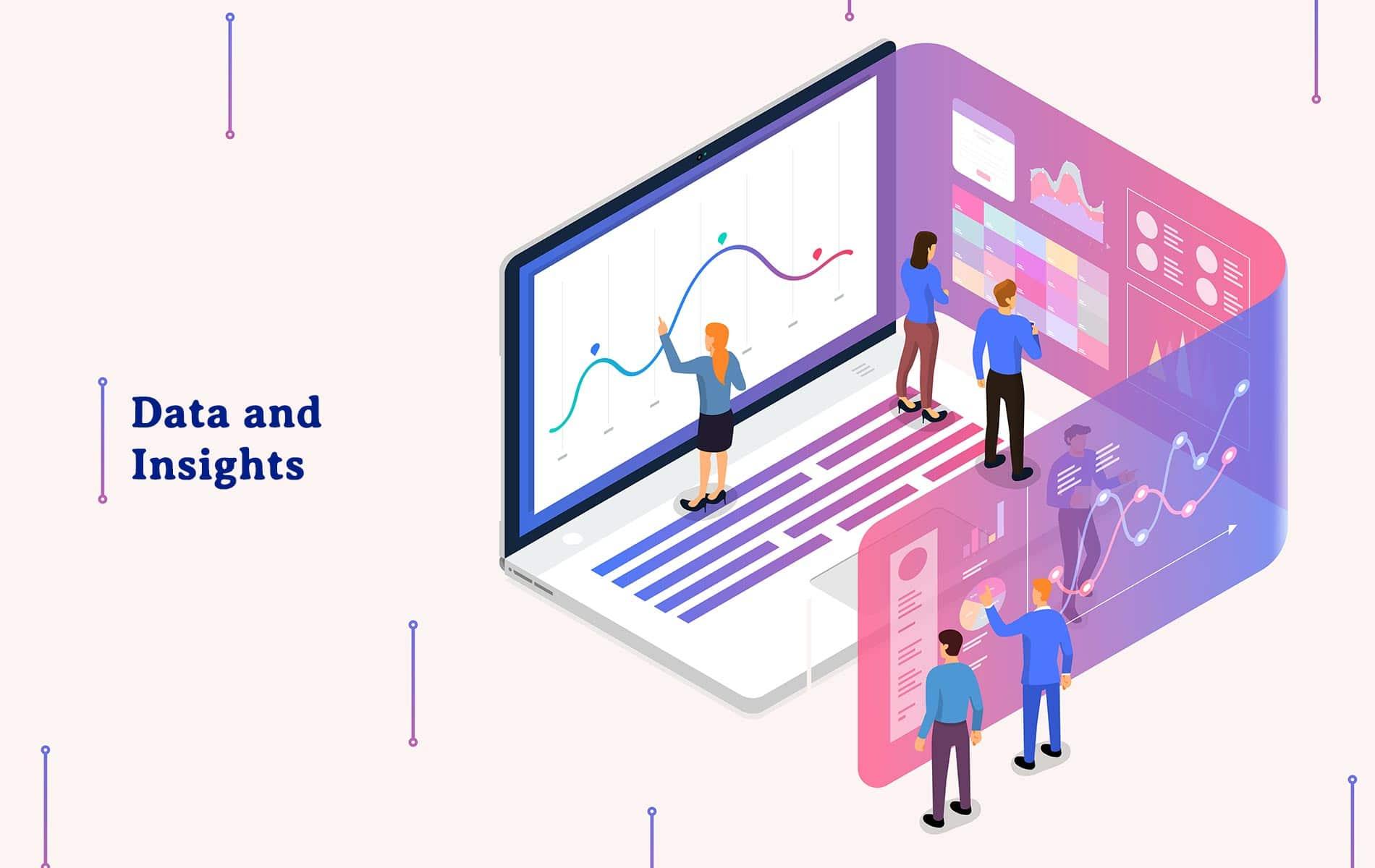 Data insights and analytics