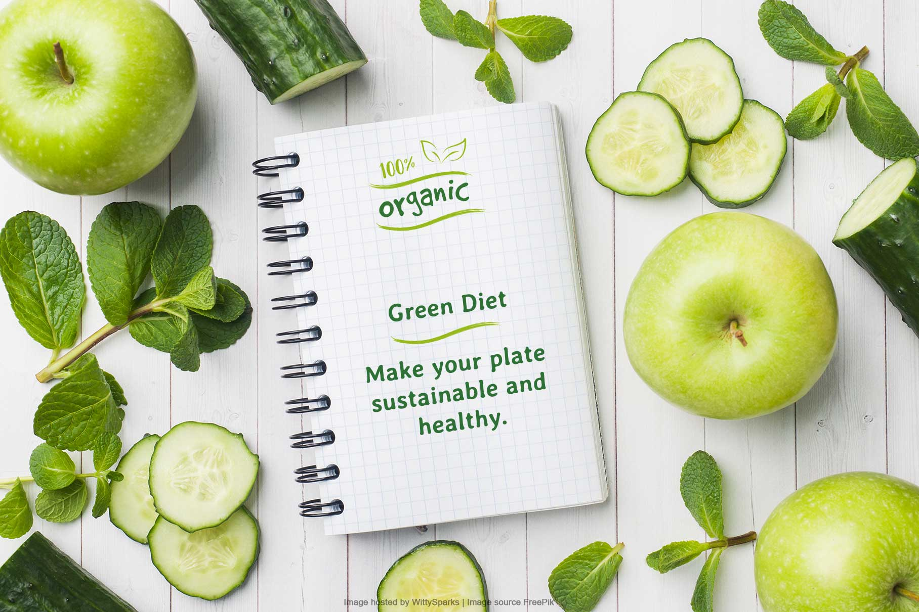 Green Diet - 100% Organic and Healthy