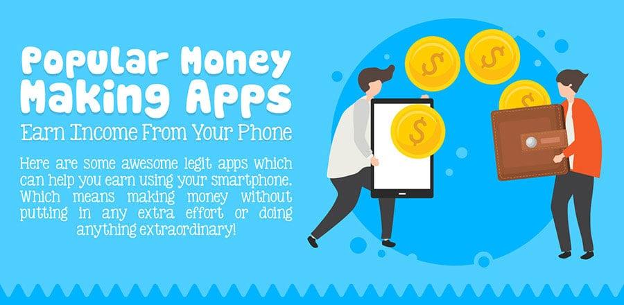 Popular money making apps