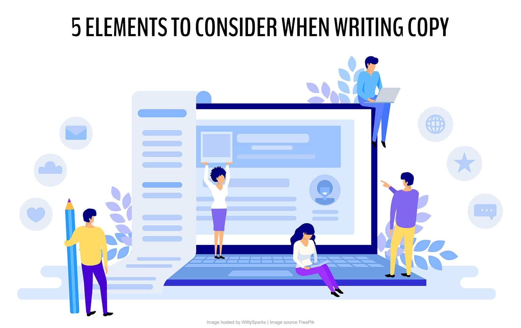 Writing Copy that Converts : 5 Elements to Consider
