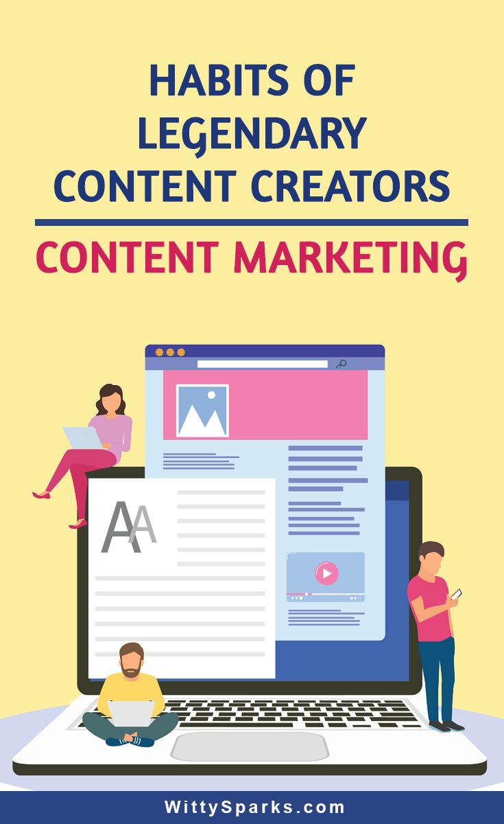 Top habits of content creators