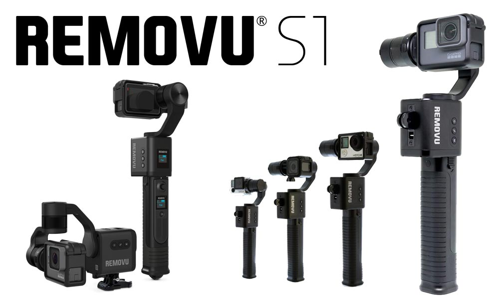 World's First Rainproof 3-axis Gimbal made for GoPro® Cameras
