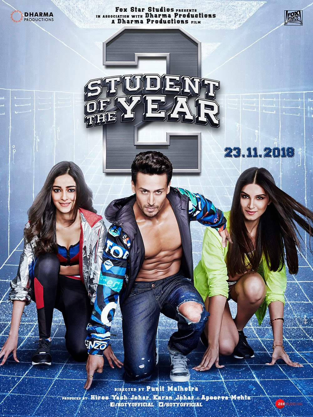 Student of the year 2 - Bollywood movie